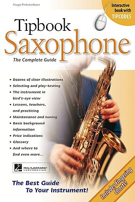 Tipbook Saxophone By Pinksterboer, Hugo